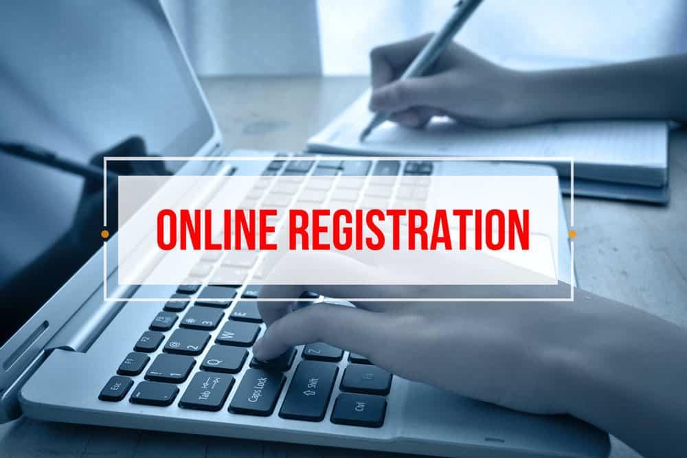 registrácia pri eshope